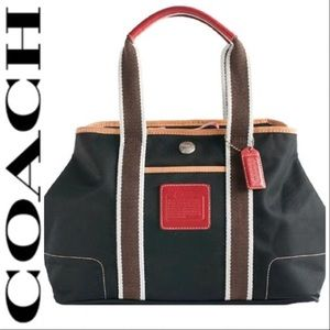 •Coach• Vintage Hampton Mini Weekend Tote